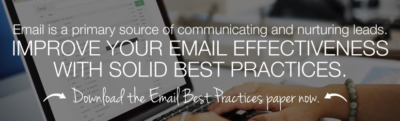 CTA to download Email Best Practices