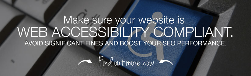 Make sure your website is accessibility compliant. Avoid significant fines and boost your SEO performance. Learn more now.